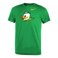 Oregon Ducks Nike Youth Dri-FIT Mascot Tee Apple Green