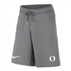 Oregon Ducks Nike Cotton Sweatpant Short Grey