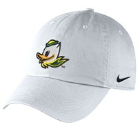 Oregon Ducks Nike Women's/Youth H86 Logo Hat White