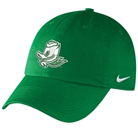 Oregon Ducks Nike Women's/Youth H86 Logo Hat Kelly Green