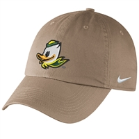 Oregon Ducks Nike Women's/Youth H86 Logo Hat Khaki