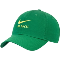"Oregon Ducks Nike H86 ""Do Ducks"" Swoosh Hat Apple"