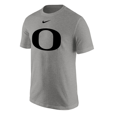 Oregon Ducks Nike Cotton Logo Tee Grey/Black