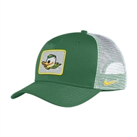 Oregon Ducks Nike Youth Trucker Patch Hat Apple Green