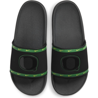 Oregon Ducks Nike Off Court Slide Sandals Apple Green