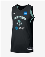 New York Liberty Sabrina Ionescu Nike Basketball Jersey Black