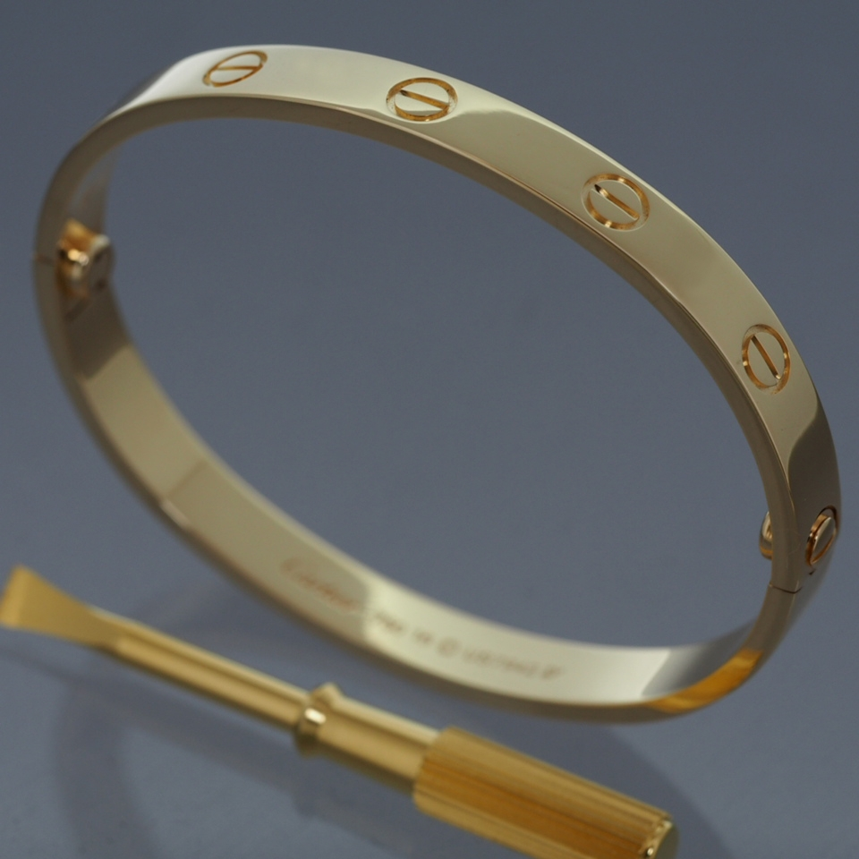 Cartier 18k Yellow Gold Gorgeous Love
