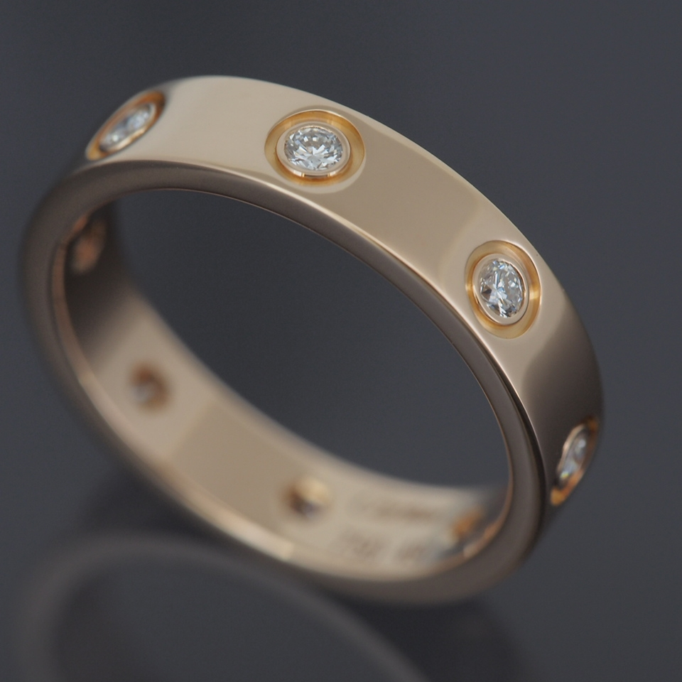 cartier love ring 8