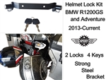 BMW GS / GSA Helmet Locks