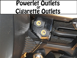 Concours 14 Rear Power Outlet(s) Complete Assembly