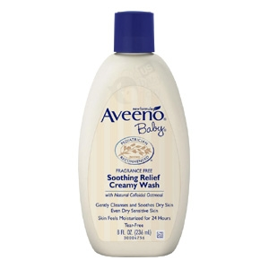 Baby Soothing Relief Creamy Wash - 8 oz. (Aveeno)