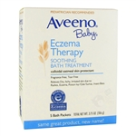 Baby Eczema Therapy Soothing Bath Treatment - 5 packets, 3.75 oz. (Aveeno)