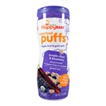Superfood Puffs Purple Carrot & Blueberry 6 Pack - 2.1 oz (Happy Baby)