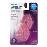 Soothie 3m+ Pacifier 2 Pack (Philips Avent)