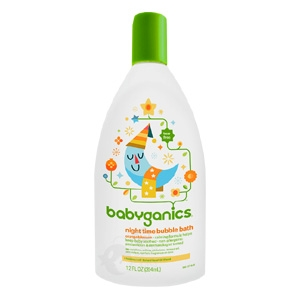 Night Time Bubble Bath Orange Blossom - 12 oz. (Babyganics)