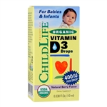 Organic Vitamin D3 - 0.338 oz. (10ml) (Childlife)