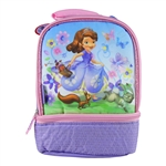 Sofia the First Insulated Dual Lunch Kit (Thermos)