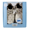 Premium Leather Maggie Moccasin Soft Soles 6-12 months - White (Robeez)