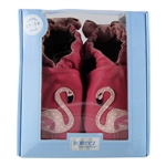 Pinky the Flamingo Soft Soles 12-18 months - Hot Pink (Robeez)