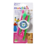 Click Lock Replacement Straws with Valves - 2 pack (Munchkin)