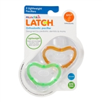 LATCH Lightweight Pacifiers 2 Pack 6m+ (Munchkin)