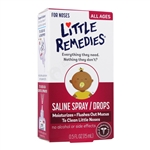 Saline Spray/Drops - 0.5 oz. (Little Remedies)