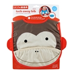 Zoo Tuck-Away Baby Bib Monkey (Skip Hop)