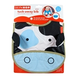 Zoo Tuck-Away Baby Bib Cow (Skip Hop)