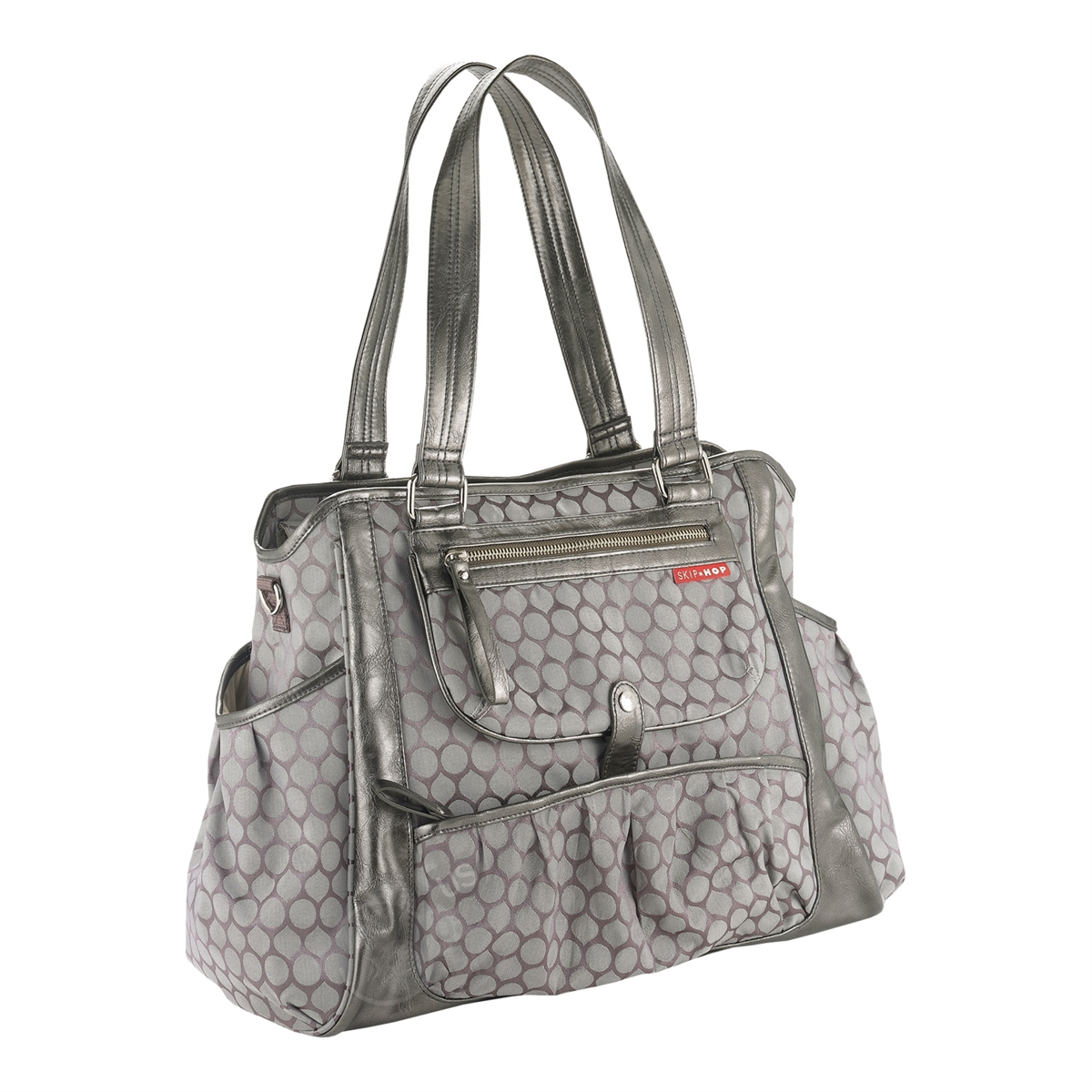 1e194eebfdbc Studio Select Day to Night Diaper Tote Pewter (Skip Hop)