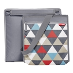 Central Park Outdoor Blanket & Cooler Bag Triangles (Skip Hop)