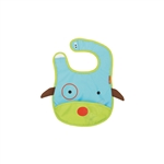 Zoo Tuck-Away Baby Bib Dog (Skip Hop)