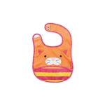 Zoo Tuck-Away Baby Bib Cat (Skip Hop)