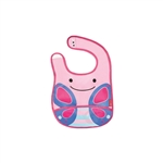 Zoo Tuck-Away Baby Bib Butterfly (Skip Hop)