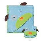 Zoo Hooded Towel & Mitt Set Dog (Skip Hop)