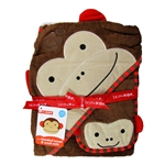 Zoo Hooded Towel & Mitt Set Monkey (Skip Hop)