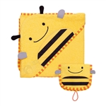 Zoo Hooded Towel & Mitt Set Bee (Skip Hop)