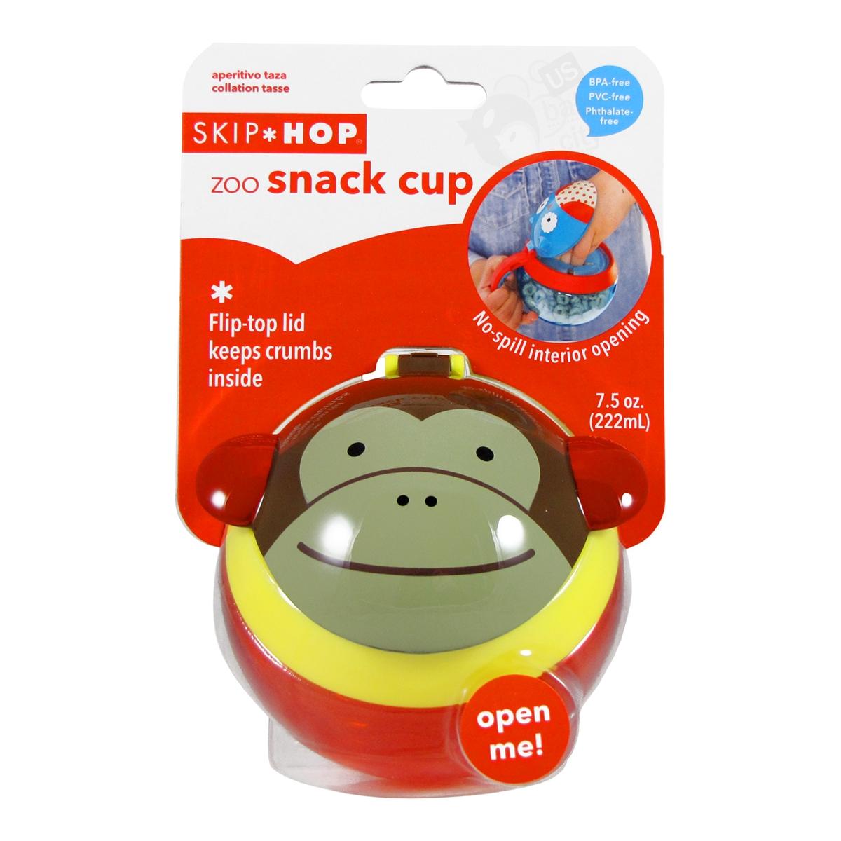 Zoo Snack Cup Monkey Skip Hop