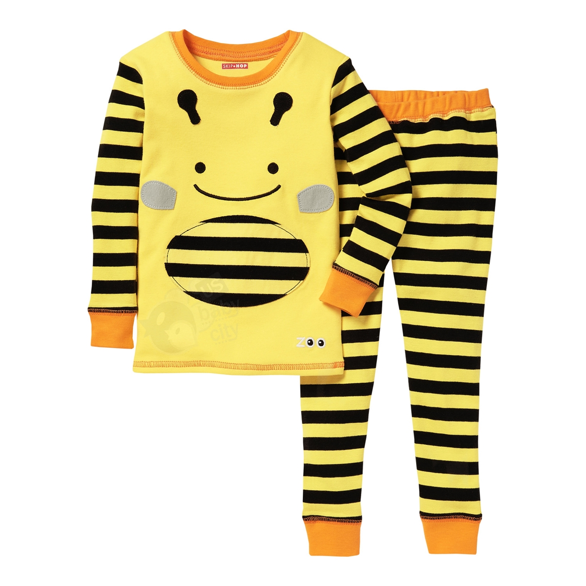 d97927838 Zoojamas Little Kid Pajamas Bee 6T (Skip Hop)