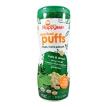 Organic Superfood Puffs Kale & Spinach 6 Pack - 6x2.1 oz, (Happy Baby)