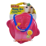 Easy Go Suction Bowl and Spoon 6 pack (Nuby)