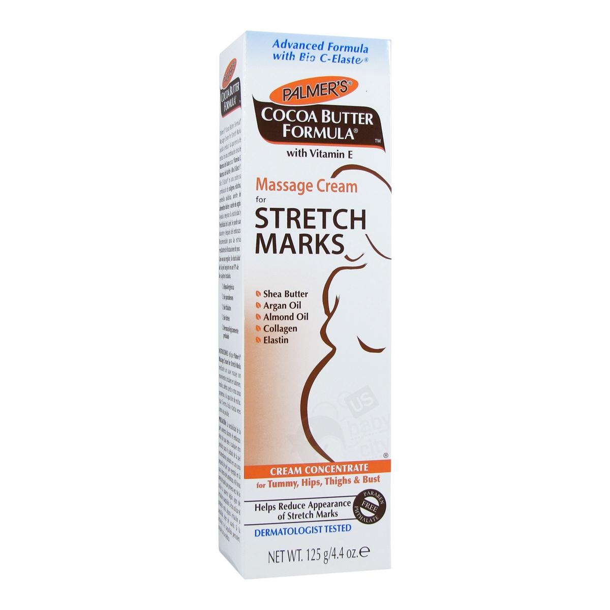 Massage Cream For Stretch Marks 4 4 Oz Palmer S