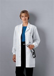 "Ladies Cherokee 32"" Knit Cuff Lab Coat"