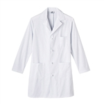 "Men's META Labwear 38"" Knot Button Lab Coat by White Swan"