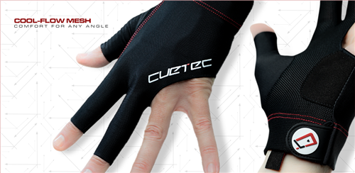 Cuetec Axis Glove - fits on LEFT hand