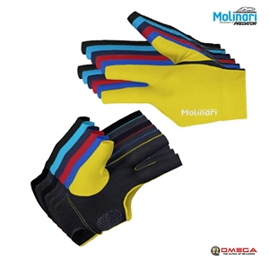 Molinari V2 Fingerless Gloves Royal Blue **FITS On RIGHT-HAND**