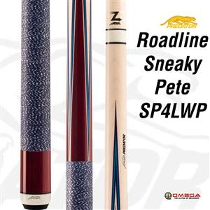 Predator Cue - Sneaky pete 4pt purple heart  Wrap SP4LWP