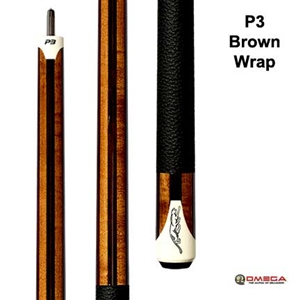 PREDATOR Cue REVO P3 Brown Wrap