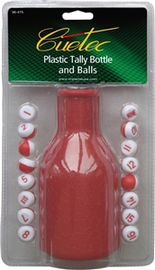 Cuetec Tally pills and Bottle