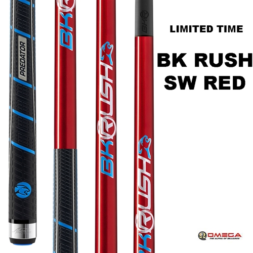 Predator Cue - BK RUSH Sport Wrap RED