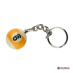 9 BALL KEYCHAIN